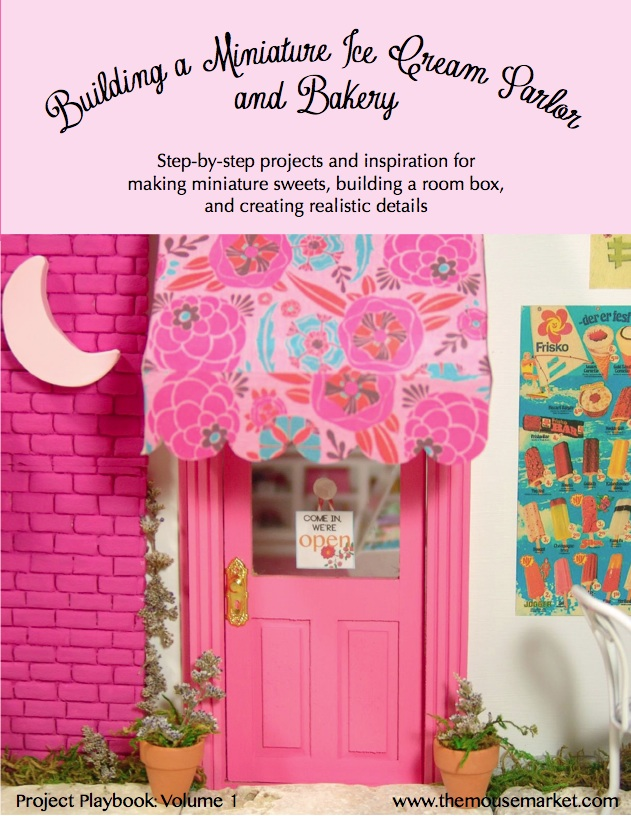 building a miniature ice cream parlor and bakery tutorial book