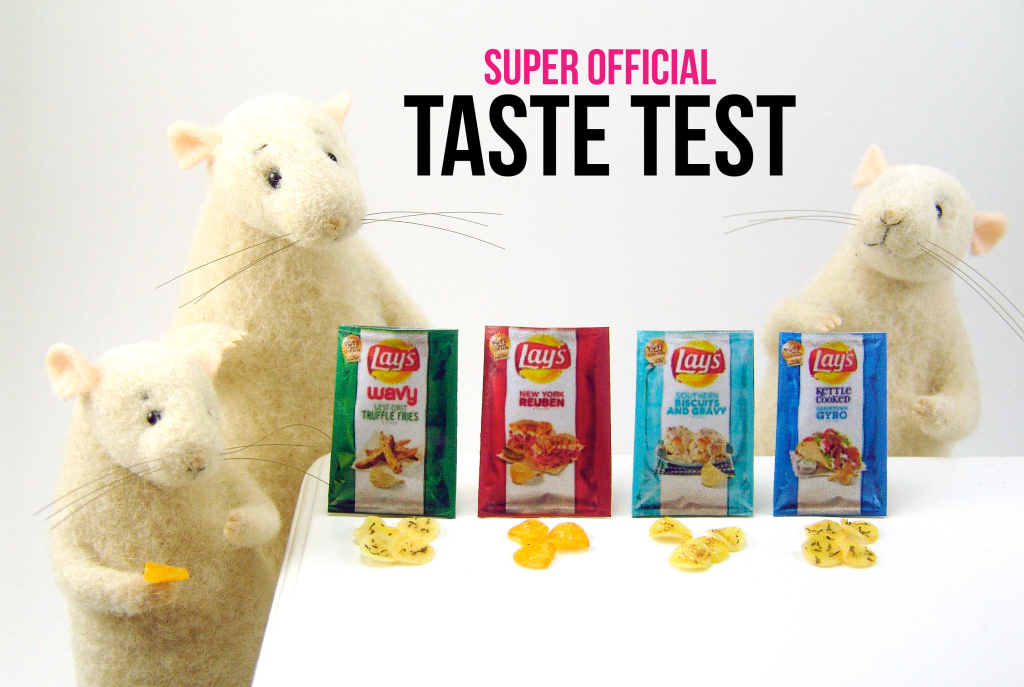 The Nutmegs taste test by The Mouse Market