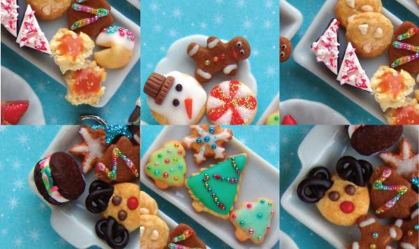 dollhouse miniature cookies tutorial