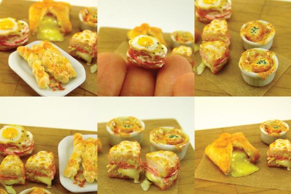 how to make miniature food