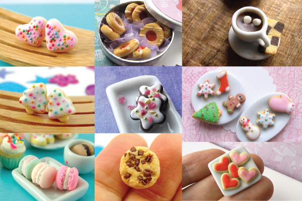 how to make polymer clay cookies