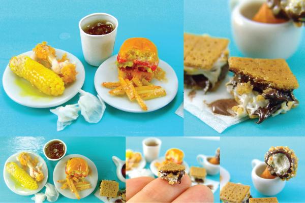 how to sculpt miniature food tutorial