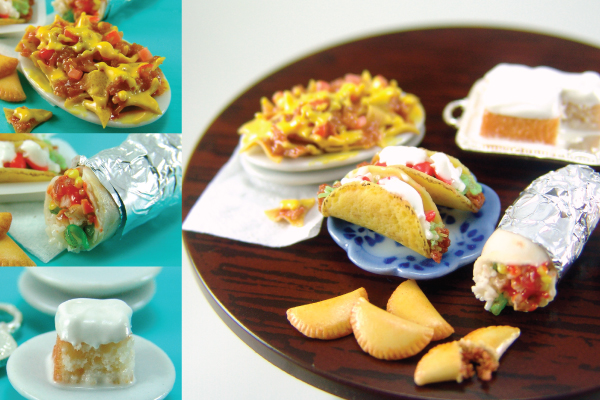sculpting miniature food, mexican