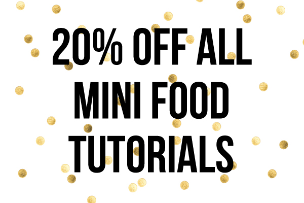 The mouse market blog 20 tutorial sale and super cute mini foods pics fandeluxe