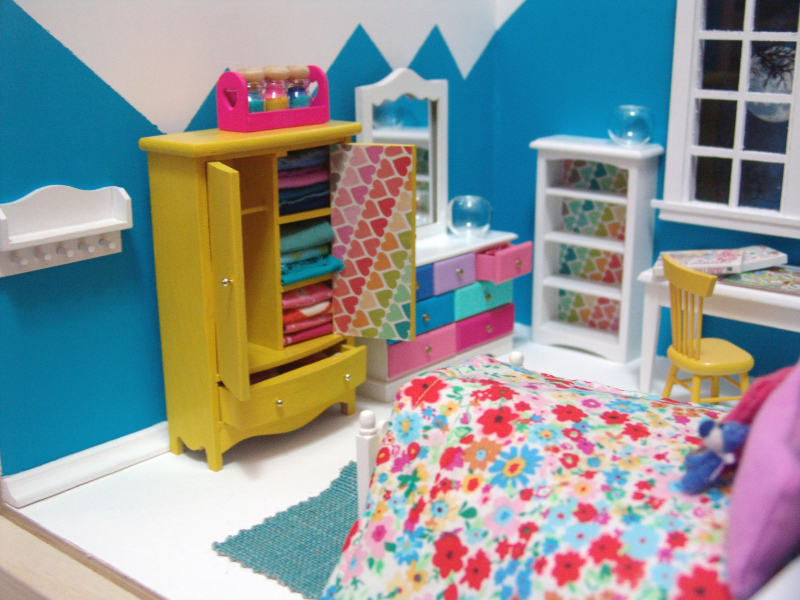 modern dollhouse by the mouse market