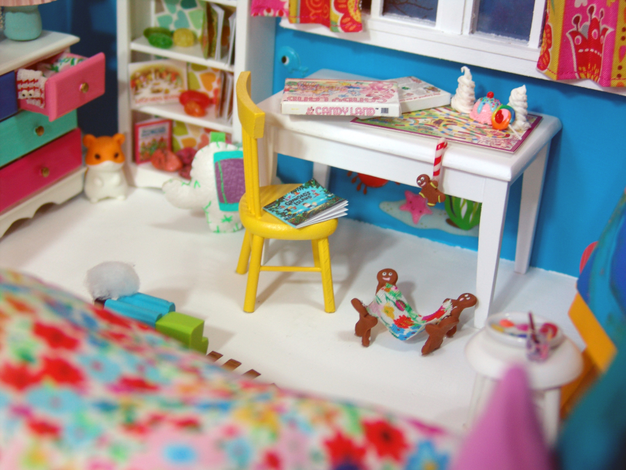 dollhouse miniature candy land by The Mouse Market