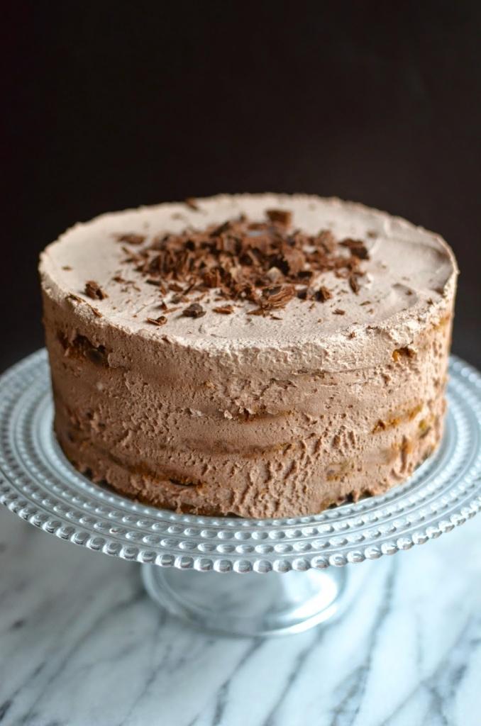 mocha chocolate ice box cake