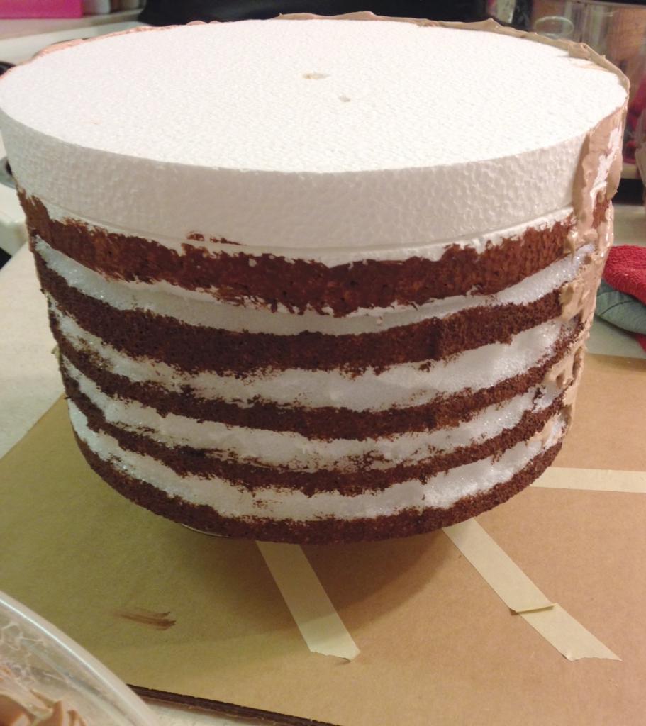 fake cake food prop