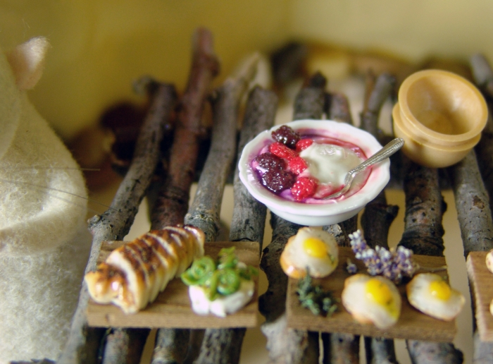 dollhouse miniature berries