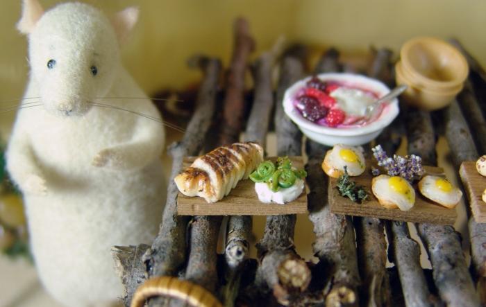 dollhouse miniature foods