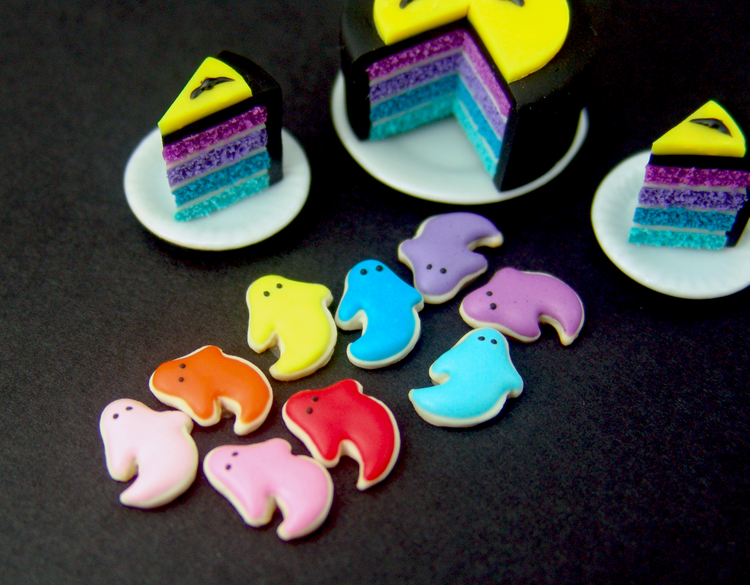Polymer clay cookies by The Mouse Market