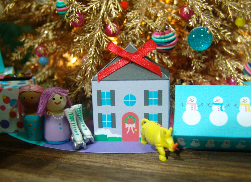 Dollhouse miniature by The Mouse Market